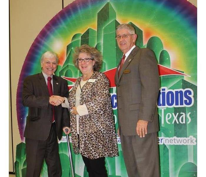 SERVPRO of Texarkana Receives Award