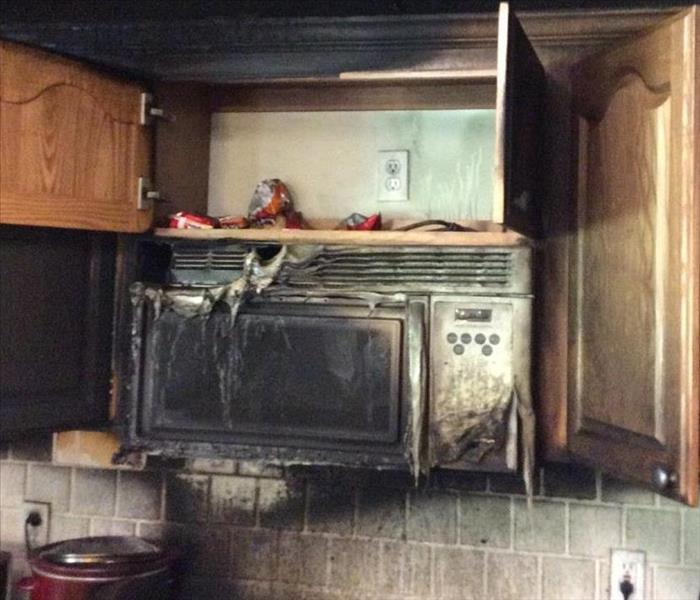 Fire Damage Oven, Microwave and Electrical Fires
