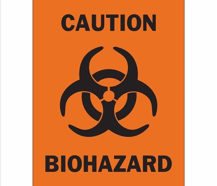 Listing the percautions of biohazard substances