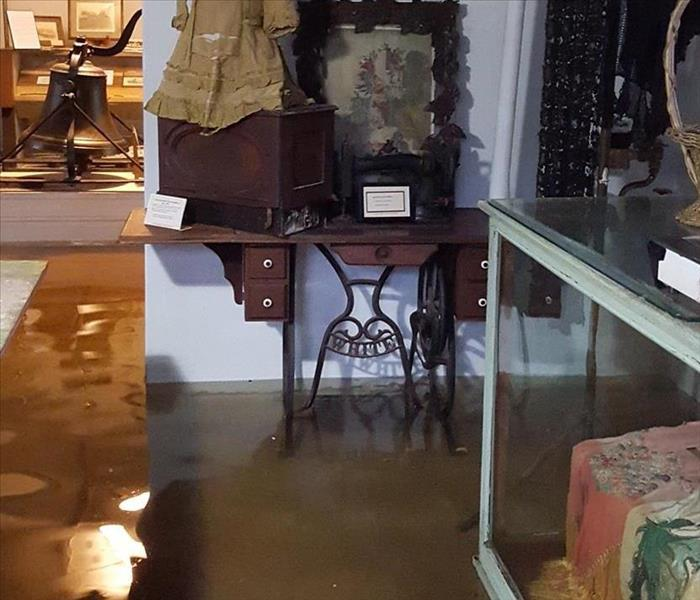 Commercial Commercial Water Damage after Flood in Jefferson, TX